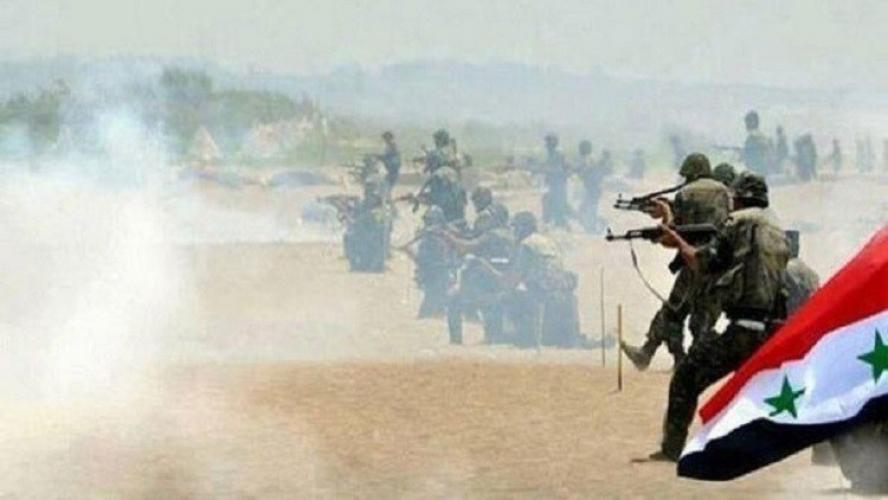 الجيش السوري يسترجع عددا من النقاط بمحيط حقل شاعر ويوسع سيطرته بالغوطة الشرقية