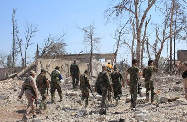 الجيش السوري يسيطر على منطقة