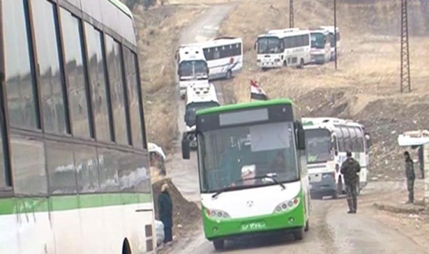 استكمال خروج المسلحين وعائلاتهم من شرق حلب مقابل الحالات الانسانية في كفريا والفوعة