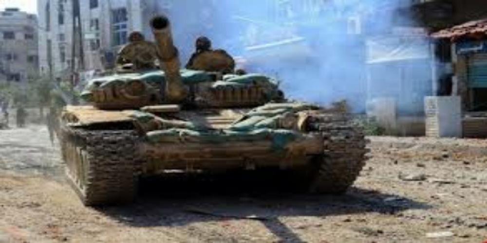 بإسناد جوي.. مجموعات الاقتحام في الجيش السوري تسحق ارهابيو