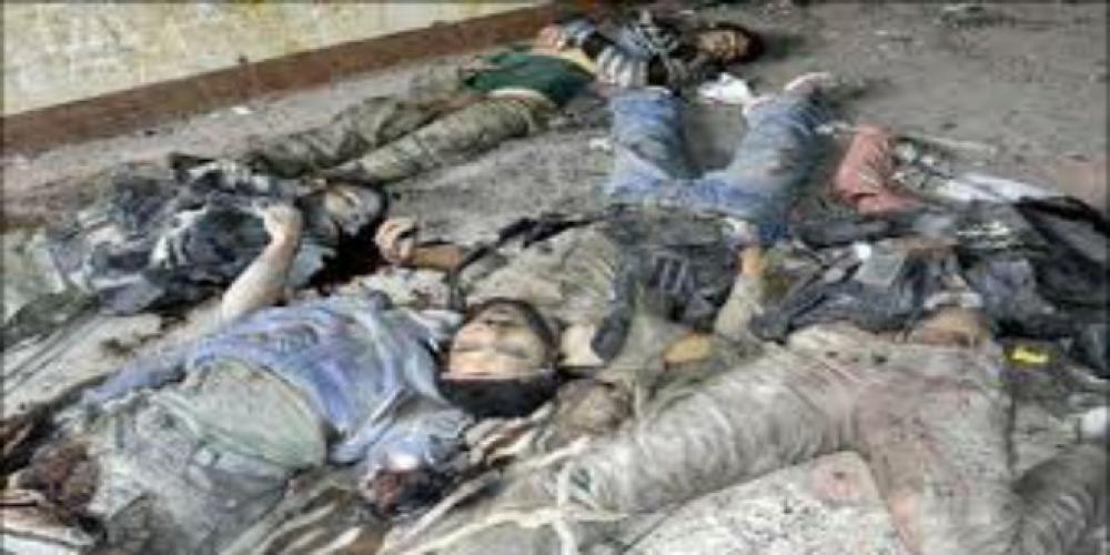 مقتل مالايقل عن 115 مسلحاَ.. والميليشيات تنسحب إلى عمق جوبر