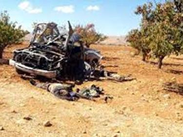مقتل وإصابة العديد من الإرهابيين بغارات سورية في ريف حماة الشرقي
