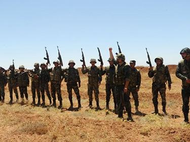 مصدر عسكري: تعاون أهالي درعا وريفها كان له دور كبير بإفشال عاصفة الجنوب