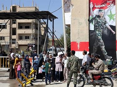 بعد عودتهم إلى منازلهم.. أهالي الحسينية يثمنون تضحيات الجيش العربي السوري