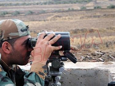الجيش يتصدى لهجوم إرهابيي الفتح على قرية معان بريف حماة