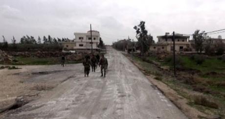 الجيش يحكم سيطرته على الصمدانية الغربية بالقنيطرة