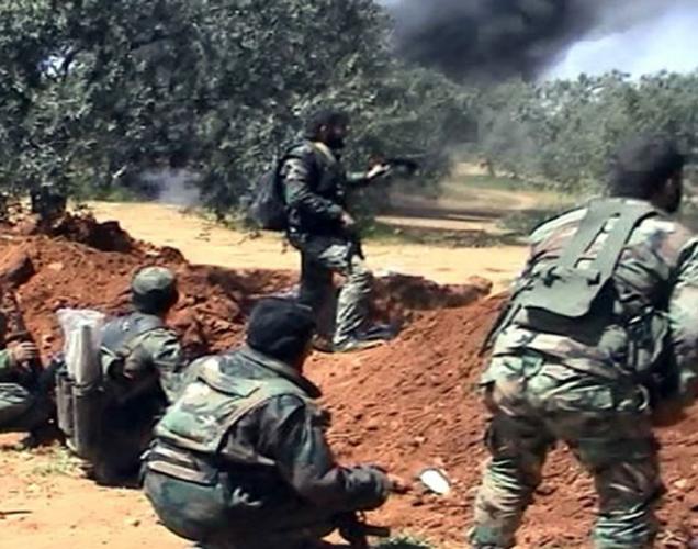 الجيش يسيطر في ريفي حلب واللاذقية ويتقدم نحو الحدود السورية التركية