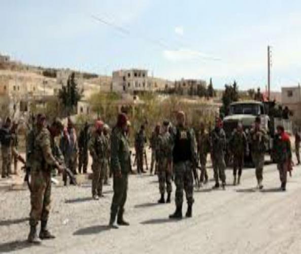 الجيش يحبط محاولة إرهابيي النصرة التسلل إلى السلمية